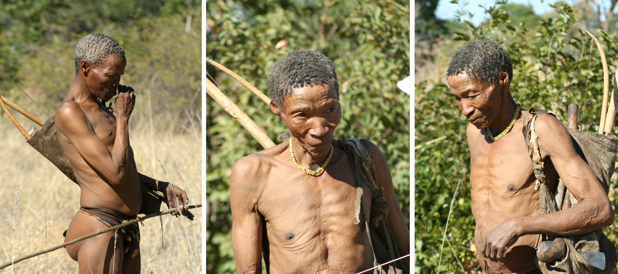 Nhoma Safari Camp San People Namibia Hunt Bow and Arrow