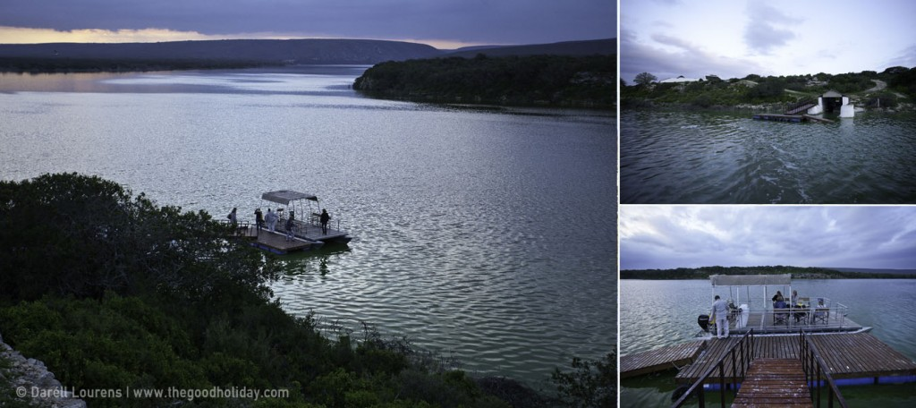 De Hoop Collection Crossing Vlei by Boat