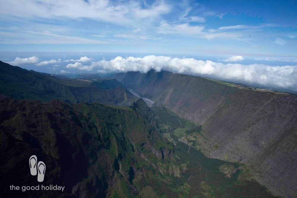 Helicopter Flight Over The Three Cirques Of Reunion Island  The Good Holiday