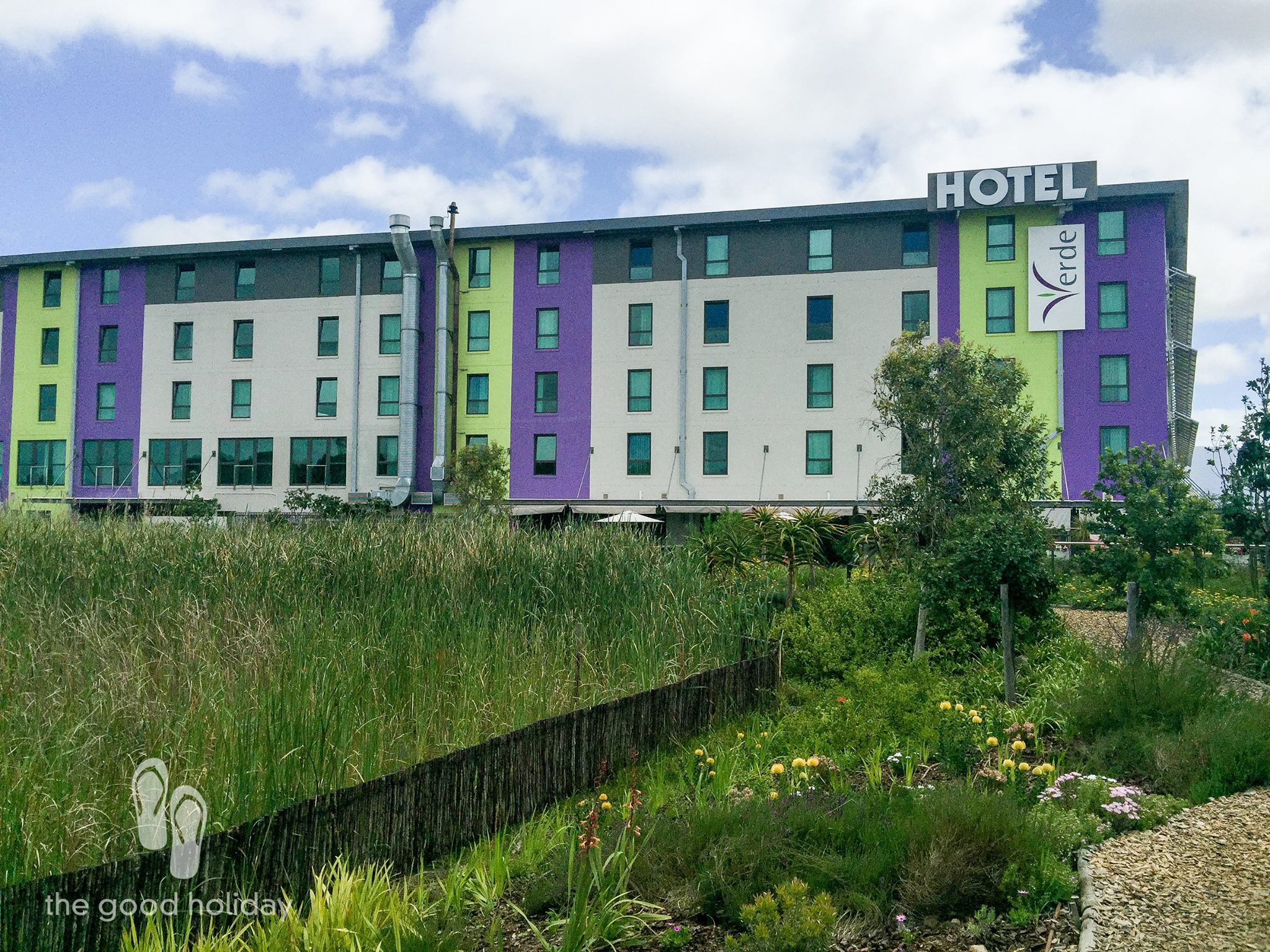 "Hotel Verde strives to implement a ""zero-waste-to-landfill"" policy."
