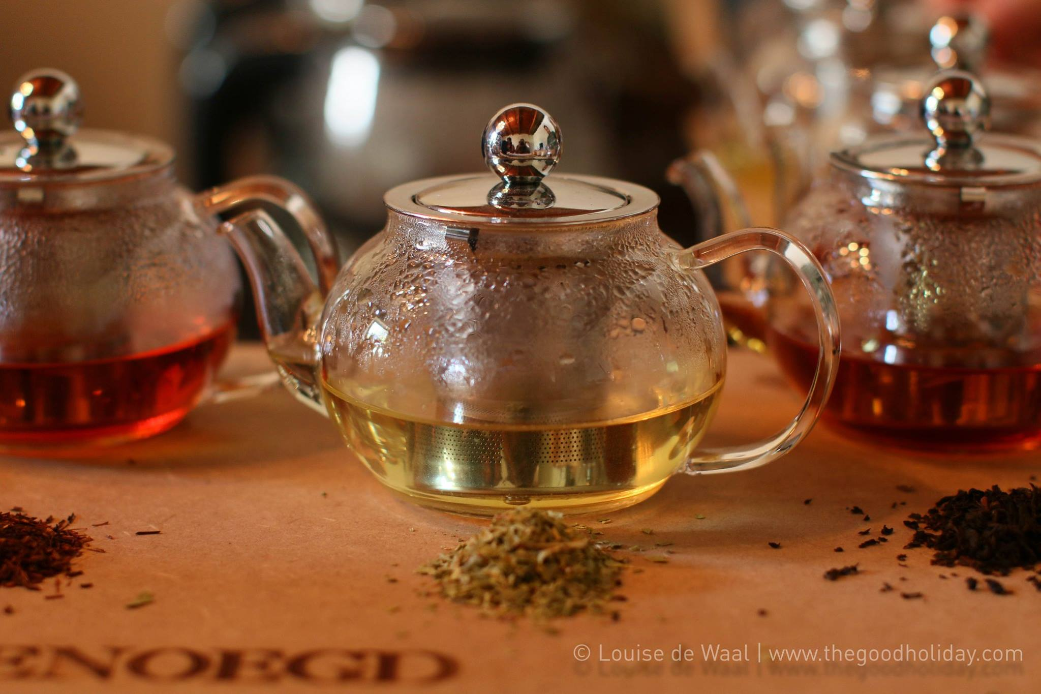 Vergenoegd Wine Estate Blending Tea