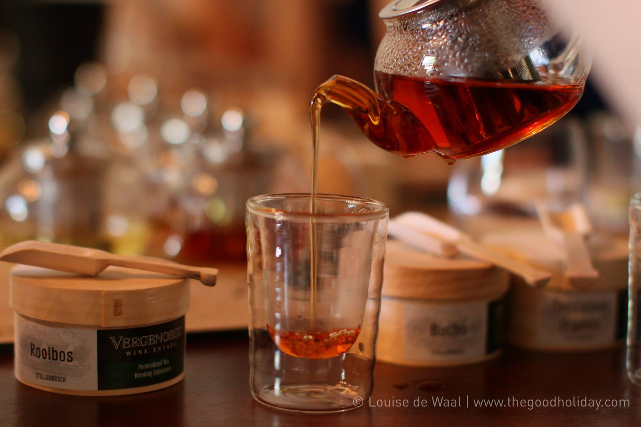 Vergenoegd Wine Estate Tea Blending