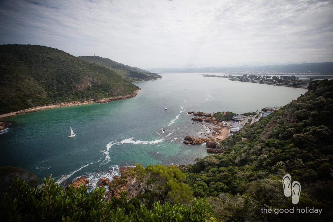 Knysna Heads View with Turbine Hotel and Spa