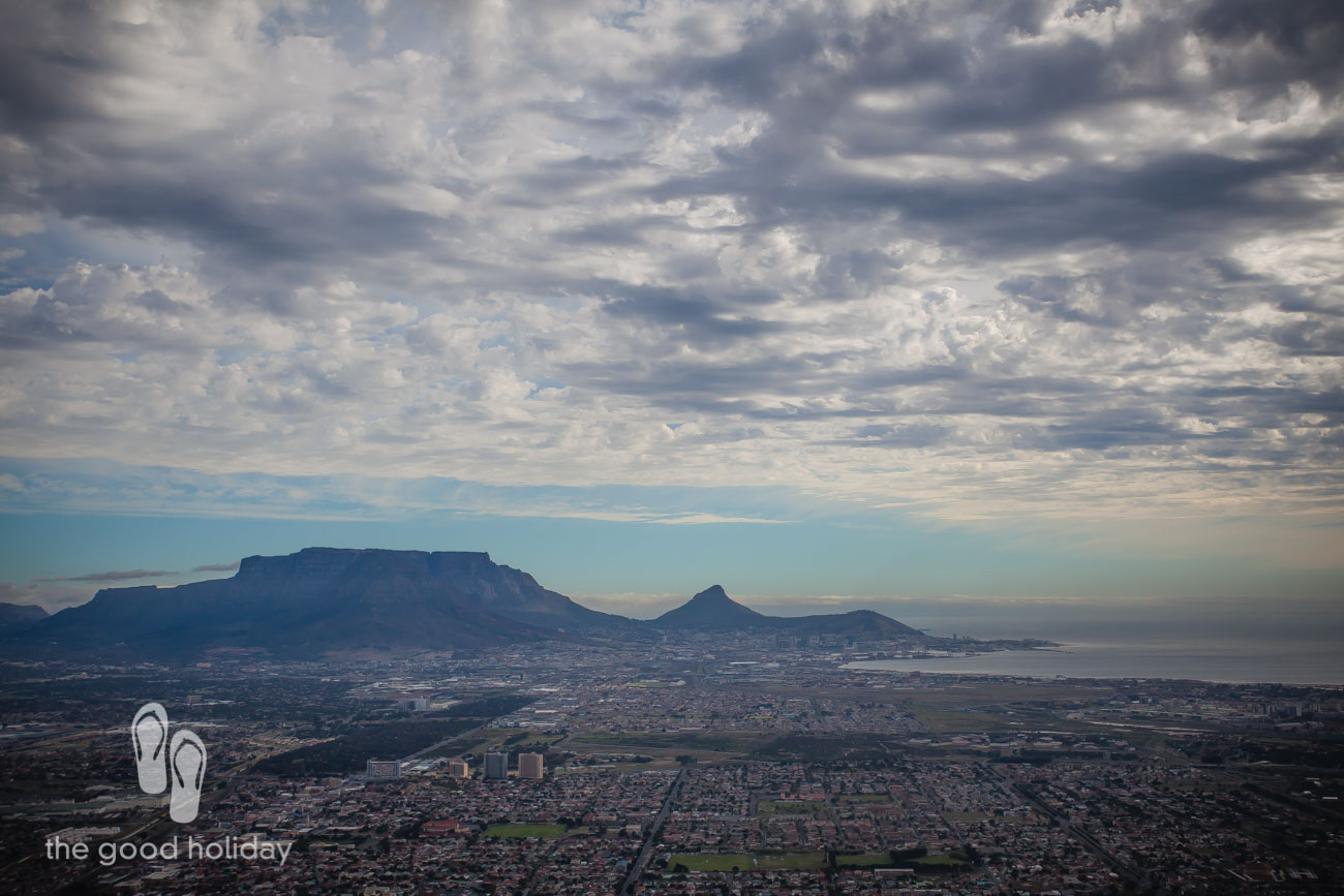 Table Mountain from the air